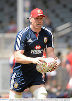 31 May 2013; Paul O'Connell, British & Irish Lions, during the captain's run ahead of their game against Barbarian FC on Saturday. British & Irish Lions Tour 2013, Squad Captain's Run, Aberdeen Sports Ground, Aberdeen, Hong Kong, China. Picture credit: Stephen McCarthy / SPORTSFILE