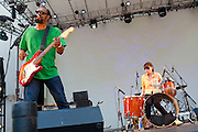 The Gories at Lincoln Center NYC for the  Ponderosa Stomp/Detroit Breakdown 7/31/2010.