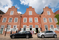 Traditional Dutch style houses in Dutch Quarter in Potsdam Brandenburg Germany