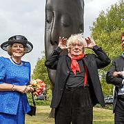 NLD/Amsterdam/20150522 - Prinses Beatrix opent Art Zuid 2015, met Rudi Fuchs