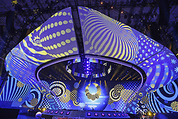 April 28, 2017 - Kiev, Ukraine - Preparations for the Eurovision Song Contest inside the International Exhibition Center in Kiev, Ukraine, 28 April, 2017. The Eurovision Song Contest (ESC) 2017 will contest consist of two semi-finals that will be held on 9 and 11 May and a grand final that will take place on 13 May at the International Exhibition Centre in Kiev. (Credit Image: © Str/NurPhoto via ZUMA Press)