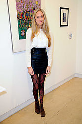 FLORENCE BRUDENELL-BRUCE at a Pop Up exhibition of Fine Art held at the Broadbent Gallery, 25 Chepstow Corner, Chepstow Place, London W2 on 7th December 2010.