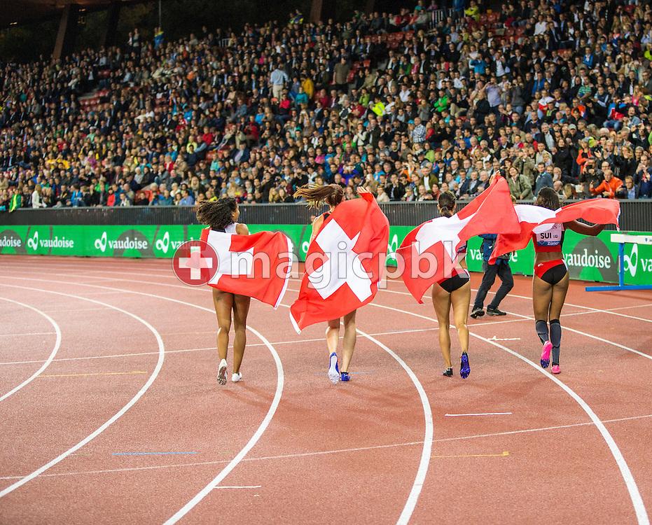 Iaaf Diamond League meeting (Weltklasse Zuerich) at the Letzigrund Stadium in Zurich, Switzerland, Thursday, Sept. 3, 2015. (Photo by Patrick B. Kraemer / MAGICPBK)