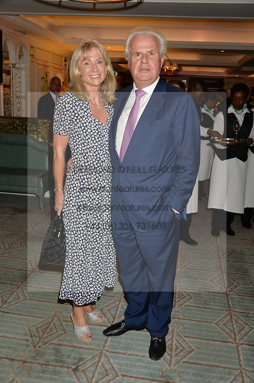 LORD & LADY MYNERS at a the Fortnum's X Frank private view - an instore exhibition of over 60 works from Frank Cohen's collection at Fortnum & Mason, 181 Piccadilly, London on 12th September 2016.