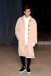 Kris Wu attending the Burberry London Fashion Week Show at Makers House, Manette Street, London.
