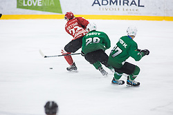 SVETINA Erik during the match between HDD Jesenice vs HK SZ Olimpia at 16th International Summer Hockey League Bled 2019 on 24th August 2019. Photo by Peter Podobnik / Sportida