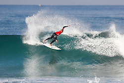 Current World No.5 on the Jeep Leaderboard Owen Wright of Australia advances to Round Four of the 2017 Quiksilver Pro France after defeating Stu Kennedy of Australia in Heat 1 of Round Three at Hossegor, Landes, France.