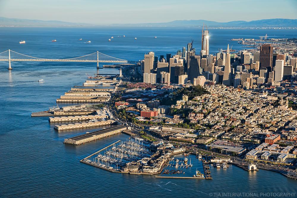 Embarcadero, Telegraph Hill & Downtown SF