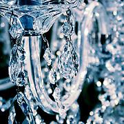 Chandelier crystals, London, England (December 2004)