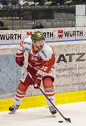 21.03.2017, Eiswelle, Bozen, ITA, EBEL, HCB Suedtirol Alperia vs UPC Vienna Capitals, Playoff, Halbfinale, 4. Spiel, im Bild Jesse Root (HCB Suedtirol) // during the Erste Bank Icehockey League, playoff semifinal 4th match between HCB Suedtirol Alperia and UPC Vienna Capitals at the Eiswelle in Bozen, Italy on 2017/03/21. EXPA Pictures © 2017, PhotoCredit: EXPA/ Johann Groder