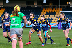 Jemima Moss of Worcester Warriors Women on debut - Mandatory by-line: Nick Browning/JMP - 20/12/2020 - RUGBY - Sixways Stadium - Worcester, England - Worcester Warriors Women v Harlequins Women - Allianz Premier 15s