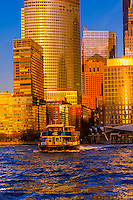 East River Ferry, New York, New York USA.
