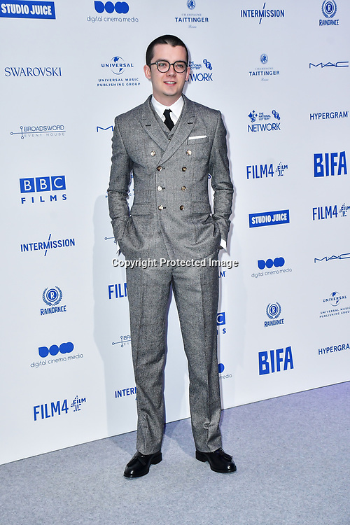 Asa Butterfield attends the 22nd British Independent Film Awards at Old Billingsgate on December 01, 2019 in London, England.