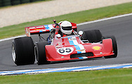 Aaron Lewis - F5000 - Chevron B24.Historic Motorsport Racing - Phillip Island Classic.18th March 2011.Phillip Island Racetrack, Phillip Island, Victoria.(C) Joel Strickland Photographics.Use information: This image is intended for Editorial use only (e.g. news or commentary, print or electronic). Any commercial or promotional use requires additional clearance.
