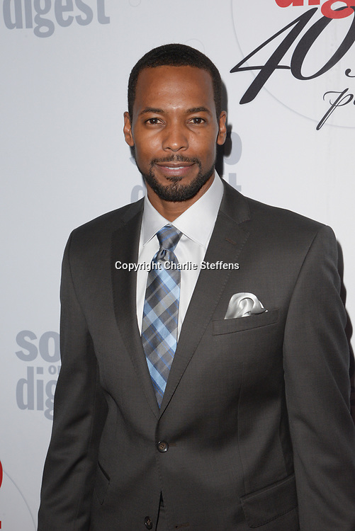 ANTHONY MONTGOMERY at Soap Opera Digest's 40th Anniversary party at The Argyle Hollywood in Los Angeles, California