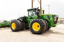 2021-08-06 McLean County 4H Fair.<br /> <br /> John Deere 9470R pulling a disc.