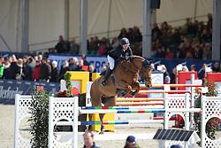 Liebherr Christina, (SUI), LB Midship du Borda<br /> CSI4* Grand Prix DKB-Riders Tour<br /> Horses & Dreams meets Denmark - Hagen 2016<br /> © Hippo Foto - Stefan Lafrentz