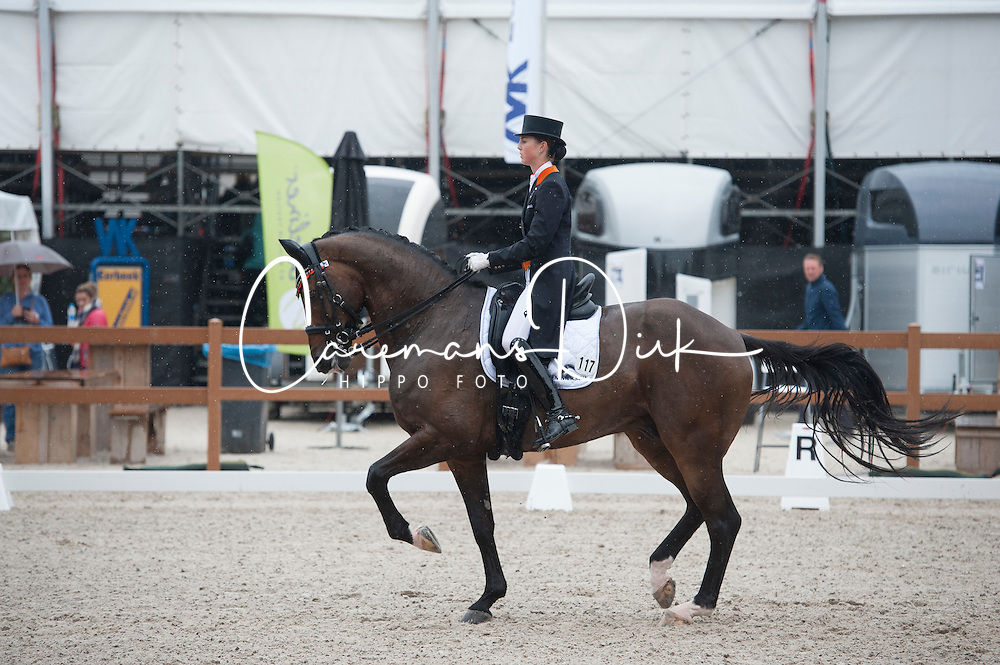 Houtvast Danielle, (NED), Uthah<br /> V2 Facility Prijs - Grand Prix U25<br /> Dutch Championship Dressage - Ermelo 2015<br /> © Hippo Foto - Leanjo de Koster<br /> 19/07/15