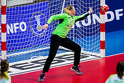 06-12-2019 JAP: Serbia - Slovenia, Kumamoto<br /> last match groep A at 24th IHF Women's Handball World Championship. / Amra Pandzic #21 of Slovenia