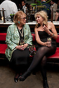 LADY ANTONIA PINTER; SONIA FRIEDMAN; <br /> Comedy Theatre First night party for Betrayal by Harold Pinter. National Gallery Cafe. Trafalgar Sq. London. <br /> <br />  , -DO NOT ARCHIVE-© Copyright Photograph by Dafydd Jones. 248 Clapham Rd. London SW9 0PZ. Tel 0207 820 0771. www.dafjones.com.