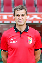 16.07.2014, SGL Arena, Augsburg, GER, 1. FBL, Mannschaftsfototermin FC Augsburg, im Bild Co-Trainer Wolfgang Beller (FC Augsburg) // during a Photo Shoot of German 1st Bundesliga FC Augsburg at the SGL Arena in Augsburg, Germany on 2014/07/16. EXPA Pictures © 2014, PhotoCredit: EXPA/ Eibner-Pressefoto/ Kolbert<br /> <br /> *****ATTENTION - OUT of GER*****