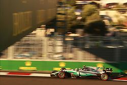 June 25, 2017 - Baku, Azerbaijan - Motorsports: FIA Formula One World Championship 2017, Grand Prix of Europe, .#77 Valtteri Bottas (FIN, Mercedes AMG Petronas) (Credit Image: © Hoch Zwei via ZUMA Wire)