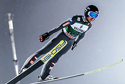 February 8, 2019 - Lahti, Finland - Clemens Aigner competes during FIS Ski Jumping World Cup Large Hill Individual Qualification at Lahti Ski Games in Lahti, Finland on 8 February 2019. (Credit Image: © Antti Yrjonen/NurPhoto via ZUMA Press)