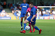 AFC Wimbledon Kosta Sparta (29) dribbling during the Pre-Season Friendly match between AFC Wimbledon and Queens Park Rangers at the Cherry Red Records Stadium, Kingston, England on 14 July 2018. Picture by Matthew Redman.