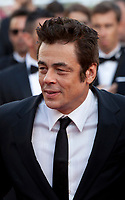 Benicio del Toro at the 70th Anniversary Ceremony arrivals at the 70th Cannes Film Festival Tuesday 23rd May 2017, Cannes, France. Photo credit: Doreen Kennedy
