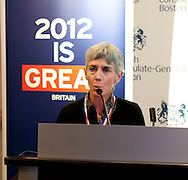 The Olympic Champions as sponsored by the UK Consulate General Mission of Boston MA.Keynote speaker Joan Benoit Samuelson.