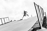 Morgan Wade during BMX Big Air Finals at the 2018 X Games Sydney in Sydney, Australia. ©Brett Wilhelm/ESPN