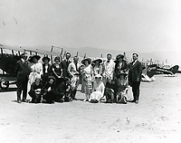 1921 Group of people at DeMille Field #2 at Wilshire & Fairfax Blvds.