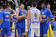DESCRIZIONE : Eurolega Euroleague 2015/16 Group D Dinamo Banco di Sardegna Sassari - Maccabi Fox Tel Aviv<br /> GIOCATORE : Joe Alexander Trevor Mbakwe Guy Pnini<br /> CATEGORIA : Fair Play Postgame<br /> SQUADRA : Maccabi Fox Tel Aviv<br /> EVENTO : Eurolega Euroleague 2015/2016<br /> GARA : Dinamo Banco di Sardegna Sassari - Maccabi Fox Tel Aviv<br /> DATA : 03/12/2015<br /> SPORT : Pallacanestro <br /> AUTORE : Agenzia Ciamillo-Castoria/L.Canu