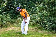 01-09-2016 Golffoto's van het Nationaal Open op de Hilversumsche Golf Club in Hilversum. Ronde 3.  Jim de Heij