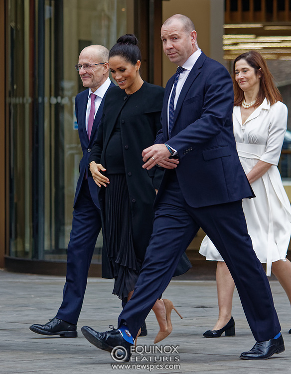 London, United Kingdom - 31 January 2019<br /> Meghan, Duchess of Sussex, Meghan Markle visiting City, University of London in her role as Patron of The Association of Commonwealth Universities, ( The ACU ). City, University of London, Northampton Square, Clerkenwell, London, UK. Pictured with Meghan is President of City, University of London, Professor Sir Paul Curran.<br /> (photo by: EQUINOXFEATURES.COM)<br /> Picture Data:<br /> Photographer: Equinox Features<br /> Copyright: ©2019 Equinox Licensing Ltd. +448700 780000<br /> Contact: Equinox Features<br /> Date Taken: 20190131<br /> Time Taken: 15022903<br /> www.newspics.com