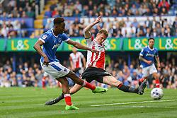 Goal, Jamal Lowe of Portsmouth scores, Portsmouth 4-0 Cheltenham Town - Mandatory by-line: Jason Brown/JMP - 06/05/2017 - FOOTBALL - Fratton Park - Portsmouth, England - Portsmouth v Cheltenham Town - Sky Bet League Two