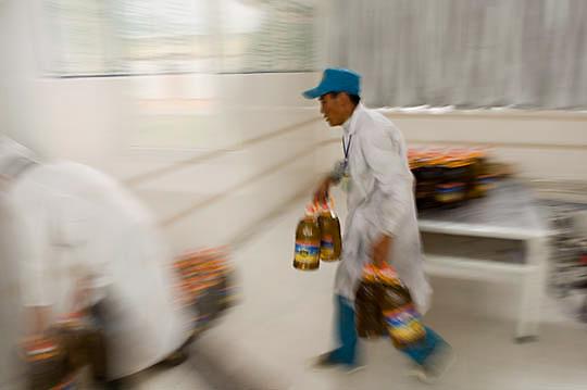 Local Tibetan worker. Tibet.