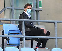 Rugby Union - 2019 / 2020 Gallagher Premiership - Semi-final - Wasps  vs Bristol Bears - Ricoh Stadium<br /> <br /> Danny Cipriani of Wasps watches from the stands in the second half with a mask on<br /> <br /> COLORSPORT/ANDREW COWIE