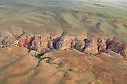 Aerial photos of  the Bighorn Basin of Wyoming Aerial photo of Devil's Canyon in the Bighorn Basin of Wyoming