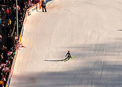 09.02.2020, Energie AG Skisprung Arena, Hinzenbach, AUT, FIS Weltcup Ski Sprung, Damen, im Bild Marita Kramer (AUT) // during her jump for the women's FIS Ski Jumping World Cup at the Energie AG Skisprung Arena in Hinzenbach, Austria on 2020/02/09. EXPA Pictures © 2020, PhotoCredit: EXPA/ Reinhard Eisenbauer