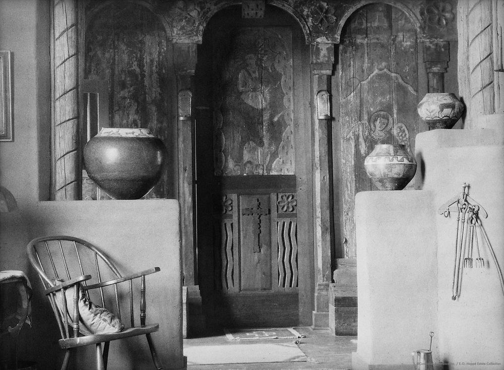 Mr. Fricke's house, Santa Fe, New Mexico, USA, 1926
