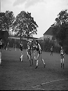 Division 1A Playoff At Iveagh Grounds..St James Gate vs Park Villa..1986..28.05.1986..05.28.1986..28th May 1986..Pictured is the some of the action as St James Gate FC took on Parkvilla FC for the title in the Division 1A playoff.
