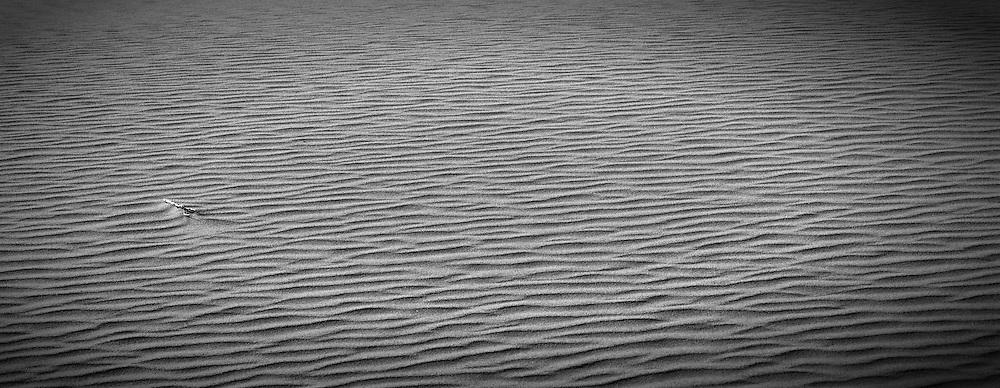 Eureka Valley Sand Dunes at Death Valley National Park