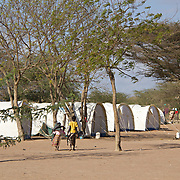 Transit camp for Sudanese Christians administered by the UNHCR. Te community was relocated here after its church was burned down in an arson attack. Dadaab Refugee Camp, North Eastern Kenya.
