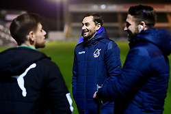 Edward Upson of Bristol Rovers arrives at Home Park prior to kick off - Mandatory by-line: Ryan Hiscott/JMP - 17/12/2019 - FOOTBALL - Home Park - Plymouth, England - Plymouth Argyle v Bristol Rovers - Emirates FA Cup second round replay