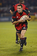 Crusaders Mark Hammett warms up after half time of the Rugby Union Super 12 Final against the Brumbies at Jade Stadium in Christchurch, New Zealand, 25/05/2002.<br /> Photo: Sandra Teddy/Photosport.co.nz