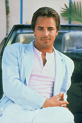 File picture of Miami Vice star Don Johnson. The show ran for five seasons on NBC from 1984–1989. Circa Date 01/01/1987