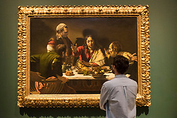 The Scottish National Gallery in Edinburgh will host an exhibition of the bad boy of seventeenth-century Italian art Michelangelo Merisi da Caravaggio. The exhibition which runs from 17 June - 24 September 2017 at The Mound features four works by the 'Od Master' that are being in Scotland for the first time.<br /> <br /> The exhibition explores the impact of his work across Europe, both during his lifetime and in the decades following his premature death.<br /> <br /> Pictured:  The Supper at Emmaus, 1601