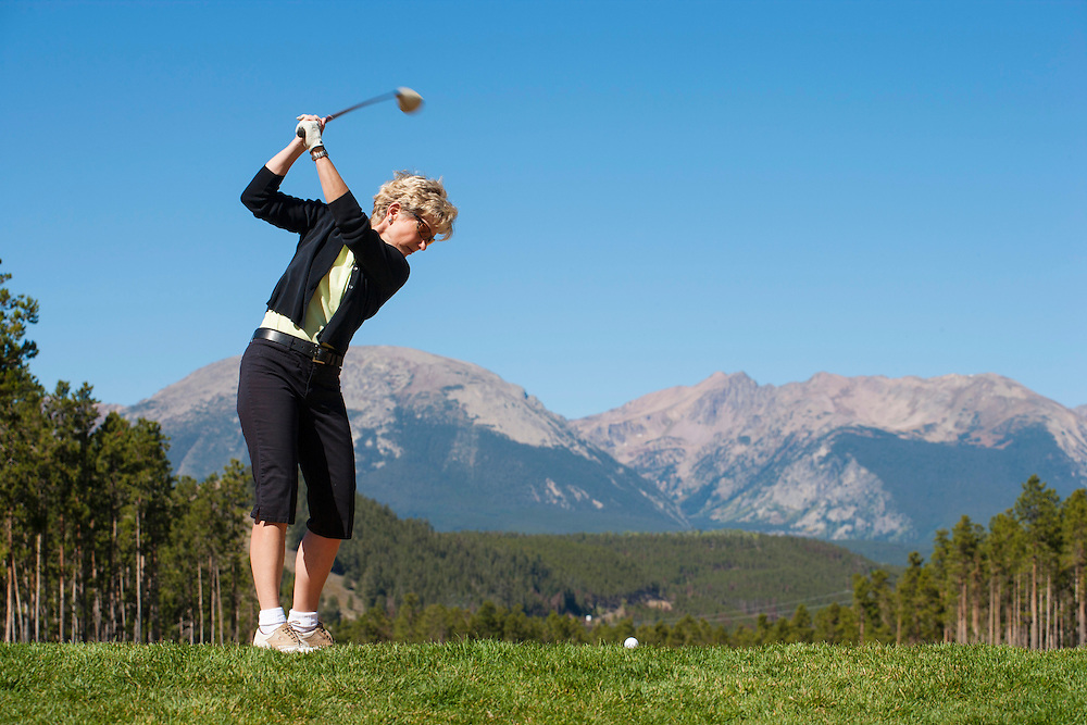 Golfing at Keystone, Colorado