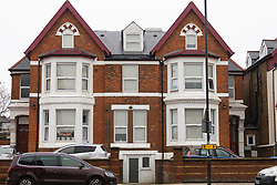The Victorian House converted to 12 flats at 65 Craven Park Road, Harlesden, West London, where two Improvised Explosive Devices were discovered by workers refurbishing a flat. Harlesden, London, November 22 2018.